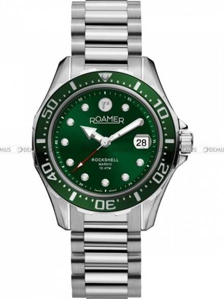 Zegarek Męski automatyczny Roamer Rockshell Mark III 220660 41 75 20