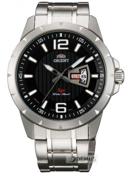 Zegarek Orient Mens Fashion FUG1X004B9 męski na stalowej bransolecie