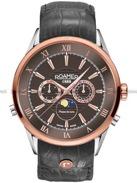 Zegarek Roamer Superior Moonphase 508821 47 53 05