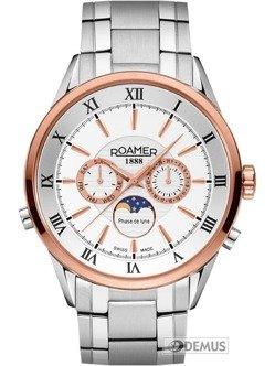 Zegarek Roamer Superior Moonphase 508821 49 13 50