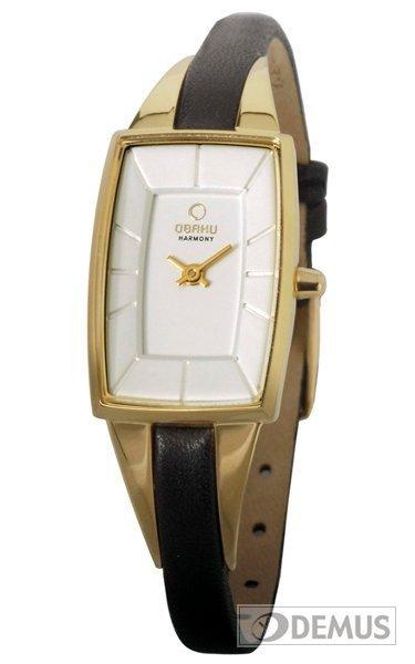 Zegarek damski na pasku Obaku V120LGIRB