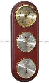 Barometr Termometr Zegar TFA Owal3DZegar-N-05-CH