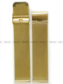 Bransoleta stalowa mesh do zegarka - Bra10 - 22 mm