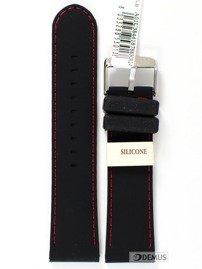 Pasek do zegarka silikonowy - Morellato A01U3844187883 24 mm