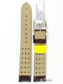 Pasek do zegarka skórzany wodoodporny - Morellato A01U3459237034 18 mm