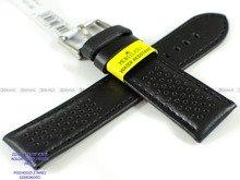Pasek do zegarka wodoodporny skórzany - Morellato A01X5272C91119CR20 - 20 mm