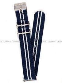Pasek nylonowy do zegarka Nautica A09920GSB - 20 mm