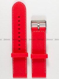 Pasek silikonowy do zegarka - Chermond PG1.22.4.7 - 22 mm