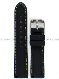 Pasek silikonowy do zegarka - Chermond PG9.22.1.9 - 22 mm