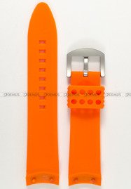 Pasek silikonowy do zegarka Vostok Anchar NH35A-5107173 - 24 mm
