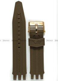 Pasek silikonowy do zegarka Vostok Europe Energia NH35A-575O285 - 20 mm