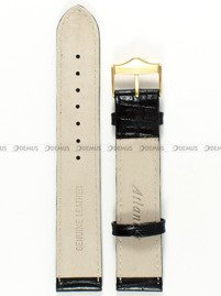Pasek skórzany do zegarka Atlantic - ATL.L513.01.19G - 19 mm