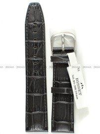 Pasek skórzany do zegarka Bisset BS-208 - 20 mm - XL