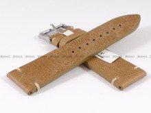 Pasek skórzany do zegarka Bisset - PB95.24.3 - 24 mm
