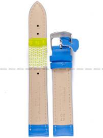 Pasek skórzany do zegarka - Diloy 302.18.19 - 18 mm