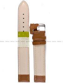 Pasek skórzany do zegarka - Diloy 302EL.18.3 18mm