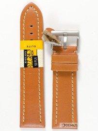 Pasek skórzany do zegarka - Diloy 377EA.24.3 - 24 mm