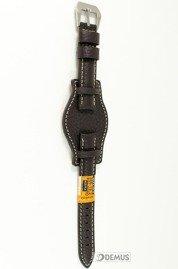 Pasek skórzany do zegarka - Diloy 386.18.2 - 18mm