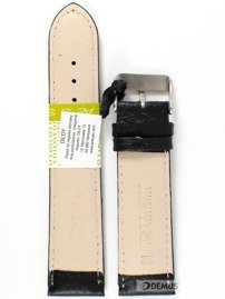 Pasek skórzany do zegarka - Diloy P205.22.1 - 22mm
