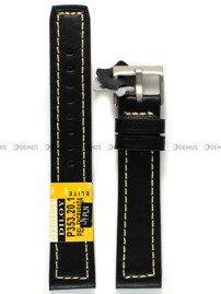 Pasek skórzany do zegarka - Diloy P353.20.1 - 20 mm