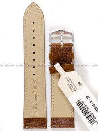 Pasek skórzany do zegarka - Hirsch Boston 01302070-2-22 - 22 mm