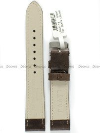 Pasek skórzany do zegarka - LAVVU LSAUC18 - 18 mm