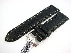 Pasek skórzany do zegarka - Morellato A01U3689A38019 24mm