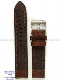Pasek skórzany do zegarka - Pacific W24.22.2.2 - 22 mm