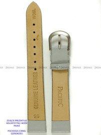 Pasek skórzany do zegarka - Pacific W36L.14.6 - 14 mm