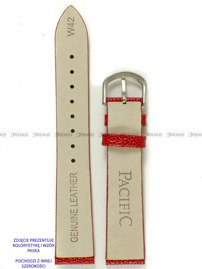 Pasek skórzany do zegarka - Pacific W42.16.4 - 16 mm