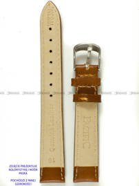 Pasek skórzany do zegarka - Pacific W83N.18.3.3 - 18 mm