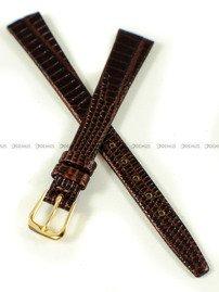 Pasek zaczepowy klejony skórzany do zegarka - K.Reda.3.12.2 - 12 mm