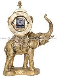 Zegar kominkowy figurka słoń - Adler 80011G