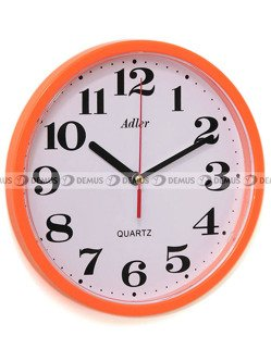 Zegar ścienny Adler 30019-ORANGE