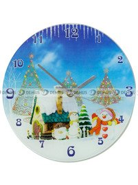 Zegar ścienny Demus S144072-Zima