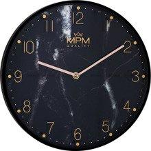 Zegar ścienny MPM Black Marble E01.3897.90