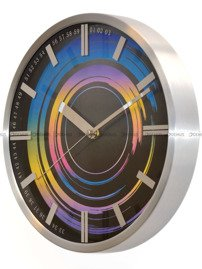 Zegar ścienny Zuma-Line A3312F6.CL-MET