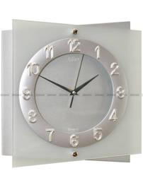 Zegar ścienny szklany Adler 21115SIL