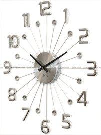 Zegar ścienny z kryształkami LAVVU LCT1230