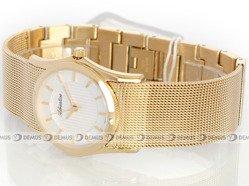 Zegarek Adriatica A3548.1113Q damski pozłacany na stalowej bransolecie