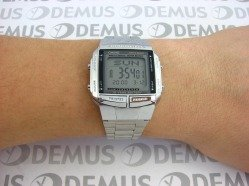 Zegarek Casio DB 360N 1AEF męski na stalowej bransolecie