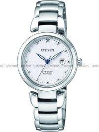 Zegarek Damski Citizen Eco-Drive Titanium EW2500-88A