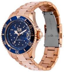 Zegarek Damski Ice-Watch - ICE Steel - Blue cosmos 016774 M
