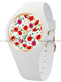 Zegarek Damski Ice-Watch - Ice Flower White Poppy 016657 S