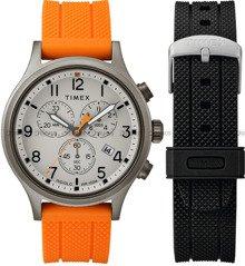 Zegarek Męski Timex Allied Chronograph TWG018000 - dodatkowy pasek w zestawie