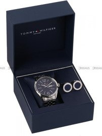 Zegarek Męski Tommy Hilfiger 2770023 - Spinki do mankietów w zestawie