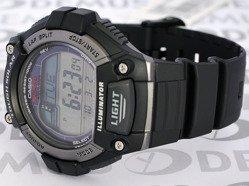 Zegarek do biegania na pasku Casio W S220 1AVEF